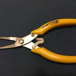 Download free 3D printer templates Replacement spring for Duratech pliers, CartesianCreationsAU
