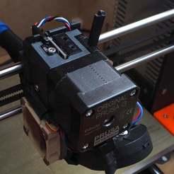 Impresiones 3D gratis Extrusora Prusa Mk3s usando un sensor indirecto de filamentos de Mk3., CartesianCreationsAU