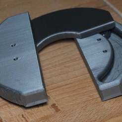 Download free 3D model Concealed 180º Hinge - print in place, CartesianCreationsAU