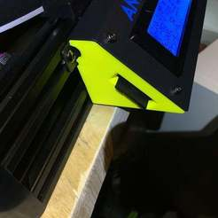 Descargar archivos STL gratis Laterales de la caja de Kossel con ranura para tarjetas SD., CartesianCreationsAU