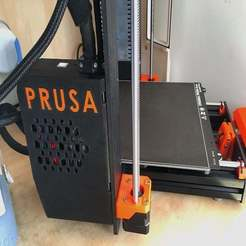 Descargar STL gratis Embargado, sujetado, invertido, Prusa Mk3 Einsy enclosure., CartesianCreationsAU