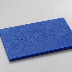 P4057709_DxO2.jpg Download free STL file The Card-i-Glove wallet (Covid-19 contact minimisation for bank cards) • 3D printable object, CartesianCreationsAU