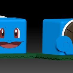 SQUIRTLE1.jpg Télécharger fichier STL Ecureuil Pokemaceta • Plan pour impression 3D, javrk25