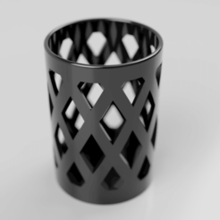 20190721_122832000_iOS.png Download free STL file Diamond Pen Holder • 3D printer model, Sebbwen