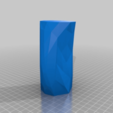 Download free STL file Low poly vase / pencil holder • Design to 3D print, Sebbwen