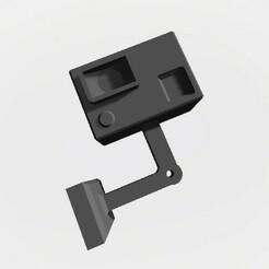 Action Cam Dummy Seitliche Montage.jpg Download STL file Scalemonkey Action Cam Dummy Sidemount RC Crawler Drift • 3D print model, Scalemonkey