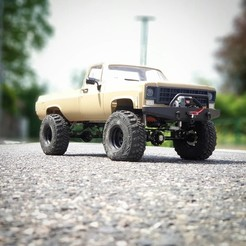 Download STL files Scalemonkey - RC4WD Blazer To Truck Bed extension wb 330mm, Scalemonkey