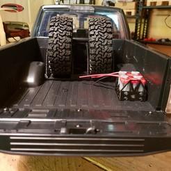 20190129_183932.jpg Download STL file Scalemonkey - Tirecarrier and Prerunner Bumper for RC4WD Hero Desert Runner JD Models • 3D print object, Scalemonkey