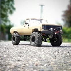 IMG_20190526_140122_538.jpg Download STL file Scalemonkey - RC4WD Blazer To Truck Bed extension wb 355mm • 3D printable design, Scalemonkey