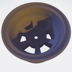 Scalemonkey Felge Version 5.jpg Download STL file Scalemonkey Wheel 1.9 Style C Truck RC 42mm Wide 12mm Hex • Design to 3D print, Scalemonkey