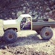 Download STL files Scalemonkey - RC4WD Blazer To Truck Bed extension wb 330mm, Scalemonkey