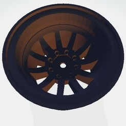 Scalemonkey Felge Version 4.jpg Download STL file Scalemonkey Wheel 1.9 Style B Truck RC 42mm Wide 12mm Hex • 3D printable design, Scalemonkey