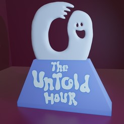 Download free 3D printer files Untold Hour Podcast Figure, Elemental3dPrinting