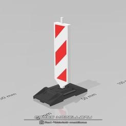 Fußplatte Leitbake.jpg Download STL file 1:18 Leitbake HX900 • 3D print template, CrossModellbau