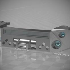 Stoßfänger SK302X.jpg Download STL file 1:18 Motormax Dodge Ram 1500 Front Bumper • 3D printable design, CrossModellbau