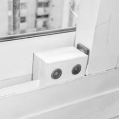 Download free 3D printer templates Sliding Window Safety Stopper, mkroitoru