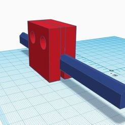 Download free 3D print files Sliding Window Safety Stopper for any Rail, mkroitoru