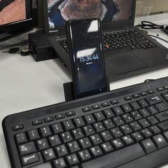 Télécharger fichier STL gratuit Téléphone à clavier/porte-tableau • Objet à imprimer en 3D, mkroitoru