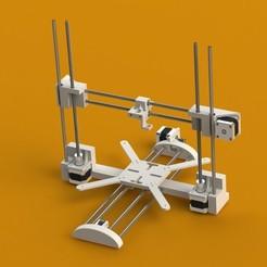 Render_2.JPG Télécharger fichier STL gratuit MK 3D Printer Full Printable Frame • Modèle imprimable en 3D, mkroitoru