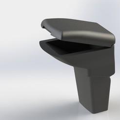 Assembly.JPG Télécharger fichier STL gratuit Accoudoir de la Ford Focus • Plan imprimable en 3D, mkroitoru