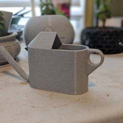 00100dPORTRAIT_00100_BURST20200426135740620_COVER.jpg Download free STL file Desktop Succulents Watering Can - 45 degree fix • 3D printable model, RobotDoctor