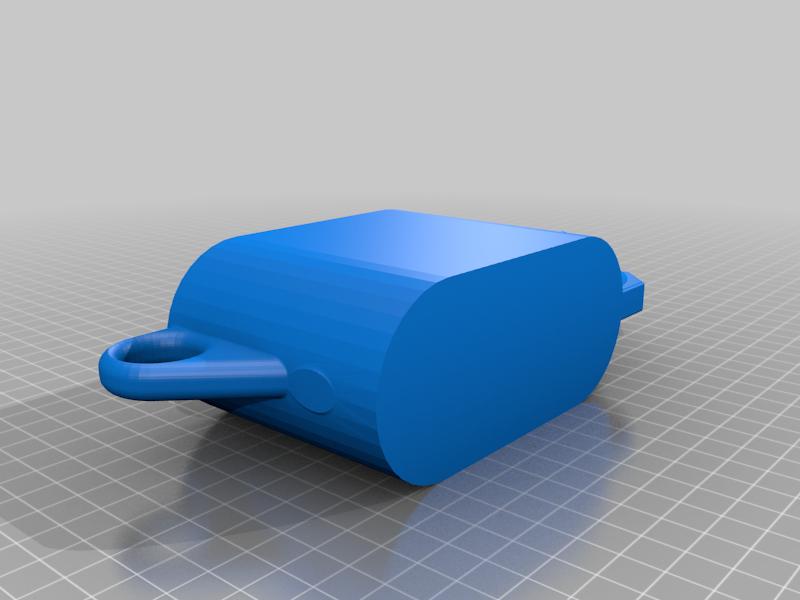 WateringCan_Done.png Download free STL file Desktop Succulents Watering Can - 45 degree fix • 3D printable model, RobotDoctor