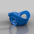 Descargar STL gratis Máscara de triple filtro - Covid-19, RobotDoctor