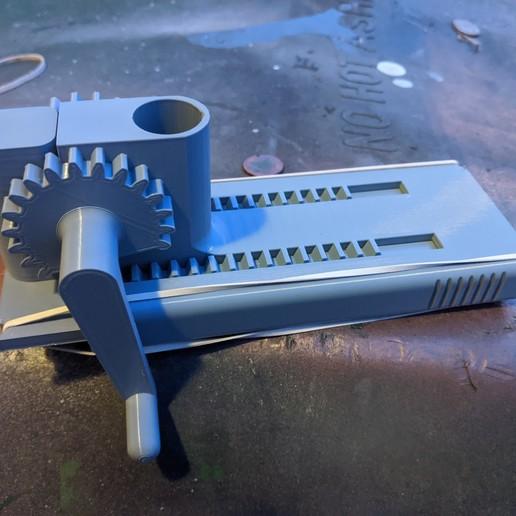 IMG_20191224_170025.jpg Télécharger fichier STL gratuit Lincoln's Revenge - Tireur d'élite à tir rapide • Plan pour imprimante 3D, ericcherry