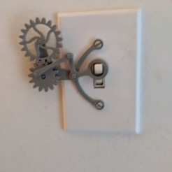 Download free 3D printer files Light Switch Over Complication, ericcherry
