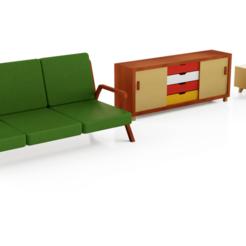Descargar archivos 3D gratis Los muebles de la casa de muñecas de Eric Cherry, ericcherry