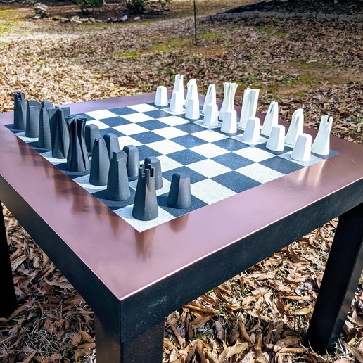 Download Free 3d Printing Models Modern Contemporary Chess Set Cults,Home Decorating Programs