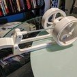 Télécharger fichier imprimante 3D gratuit Moteur à pédales à double volant d'inertie, ericcherry