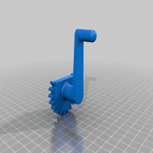 Crank_Pinion.png Télécharger fichier STL gratuit Lincoln's Revenge - Tireur d'élite à tir rapide • Plan pour imprimante 3D, ericcherry