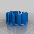 Download free 3D printer templates Summer Button Spinner Fan, ericcherry