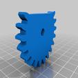 Left_Pinion.png Télécharger fichier STL gratuit Lincoln's Revenge - Tireur d'élite à tir rapide • Plan pour imprimante 3D, ericcherry