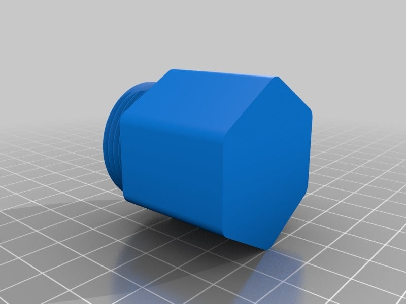 f08d1dca96bd8f72011e7e900079e5b0.png Download free STL file Hexagon Screw Cap Container • 3D printable template, ericcherry