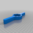 die_two_hander.png Download free STL file One and Two Handed Die Handle • 3D printable template, ericcherry