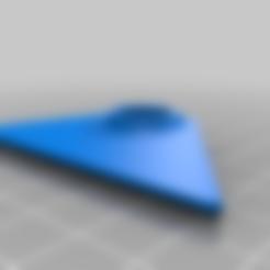 scraper_lid.stl Télécharger fichier STL gratuit Grattoir à peinture ergonomique pour lames utilitaires • Objet pour imprimante 3D, ericcherry