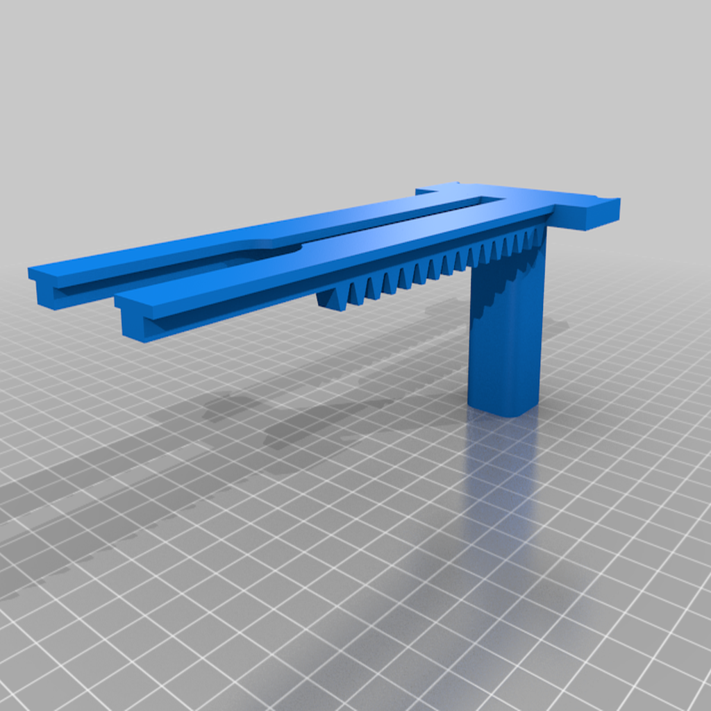 Rack_Slide.png Télécharger fichier STL gratuit Lincoln's Revenge - Tireur d'élite à tir rapide • Plan pour imprimante 3D, ericcherry