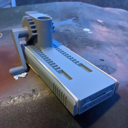 IMG_20191224_170033.jpg Télécharger fichier STL gratuit Lincoln's Revenge - Tireur d'élite à tir rapide • Plan pour imprimante 3D, ericcherry