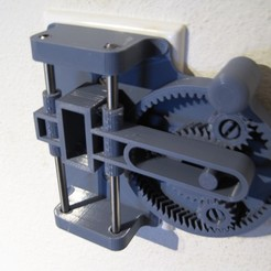Download free 3D printer templates Planetary Gear Scotch Yoke Light Switch, ericcherry