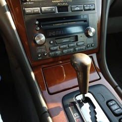 Download free 3D printer files Acura Shift Knob, ericcherry