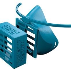 Descargar archivos STL gratis mascara total covid-19, ventas16