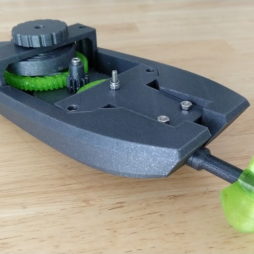 IMG_20190318_164243527.jpg Download free STL file wind-up Bathtub Boat V4 - Badewannen Boot zum Aufziehen - Funktionsfähig • Model to 3D print, GreenDot