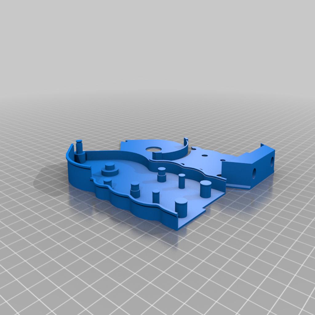 2_gearbox.png Télécharger fichier STL gratuit mini Wind-Up Boat Dual Drive - sans vis - impression complète en 3d • Plan imprimable en 3D, GreenDot