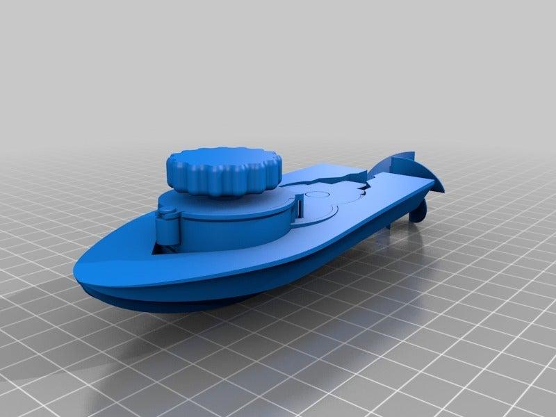 e0cd760f18ecbe509bdd2a1abd447156.png Download free STL file Mini wind-up boat prototype screwless • 3D printer object, GreenDot