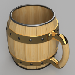 Bierhumpen_v7-isometrisch.png Download free STL file Bierhumpen • Object to 3D print, GreenDot