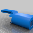 """Download free STL file eLeave istick pico vape holster with """"snap"""" - easy to print without overhangs • Object to 3D print, GreenDot"""