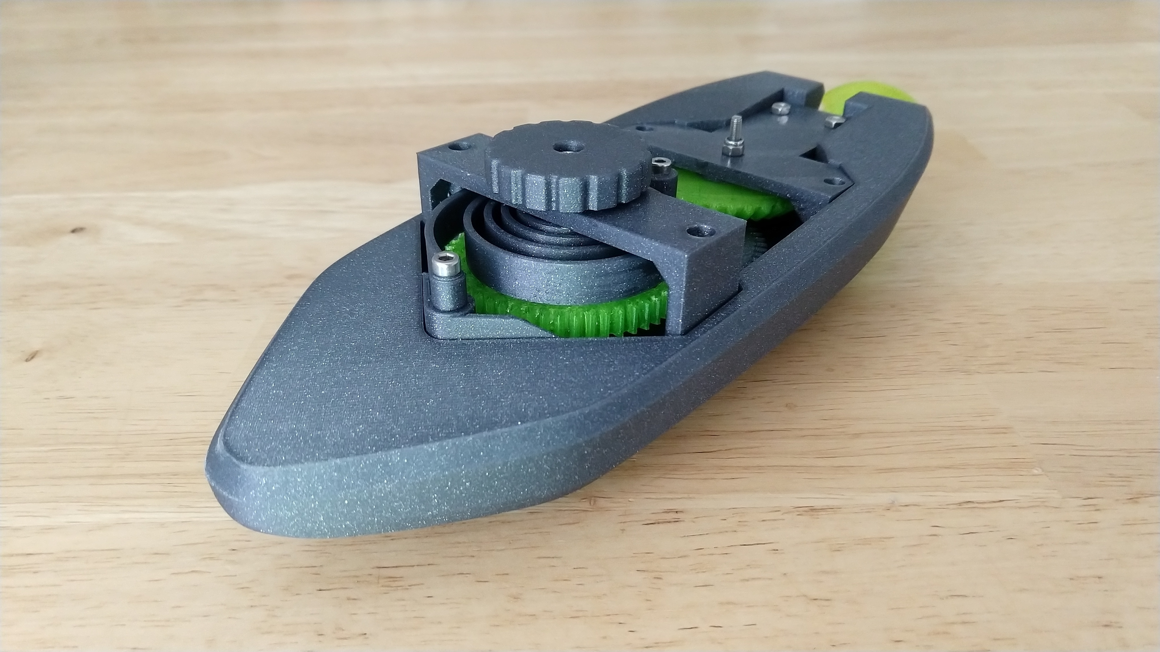 IMG_20190318_164231218.jpg Download free STL file wind-up Bathtub Boat V4 - Badewannen Boot zum Aufziehen - Funktionsfähig • Model to 3D print, GreenDot