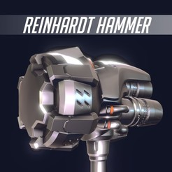 rein1.jpg Download STL file Reinhardt Hammer • 3D printable model, SebaDom